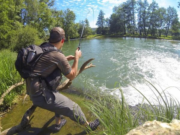 gopro pêche clergetblog