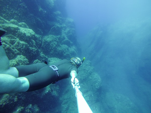 plongée profondeur go pole