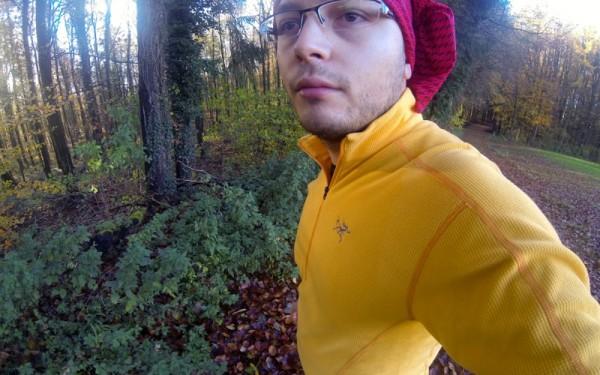 polaire arc'teryx pour le trail