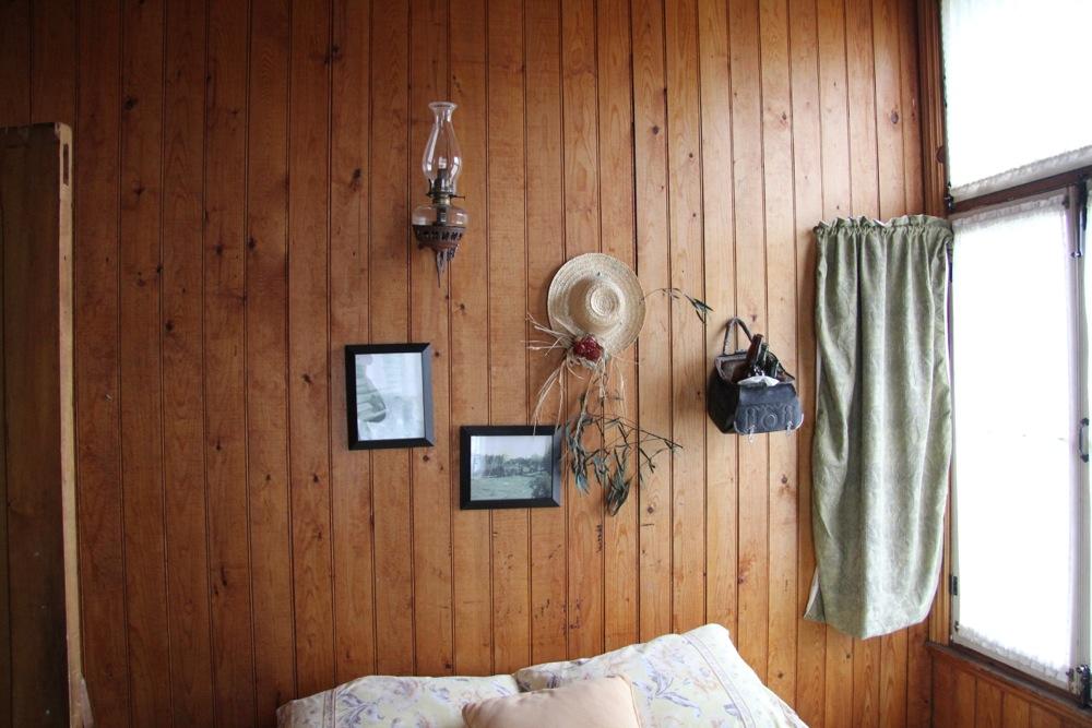 Le coins de la chambre avec vue sur la rivière