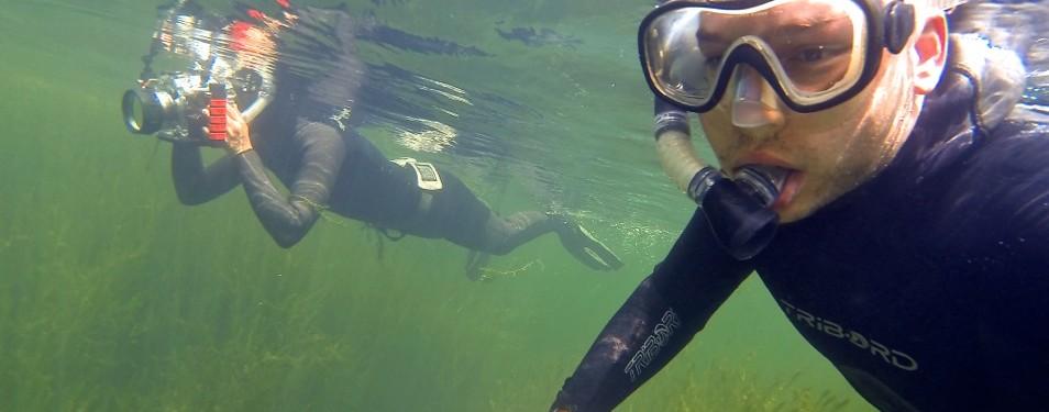 Une journée sous l'eau avec l...