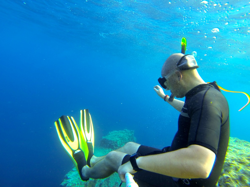 Snorkeling au cap Dramont
