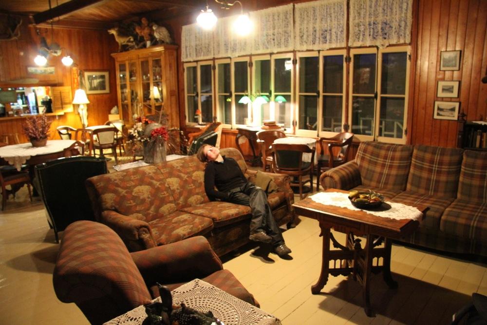 Les canapés pour vous détendre ou vous voulez dans la pourvoirie