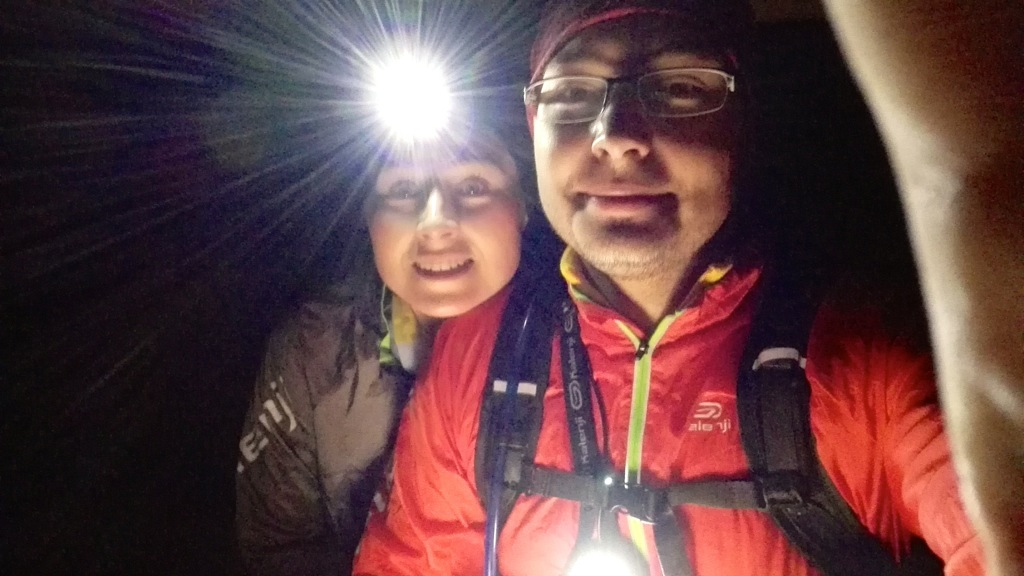 Lampe pectorale Run light VS lampe frontale