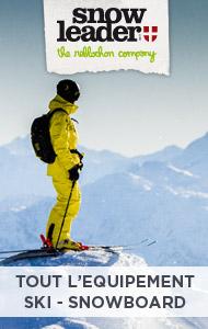 matériel ski snowleader