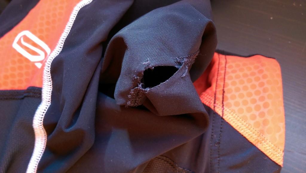 Problème de couture avec le corsaire Kalenji