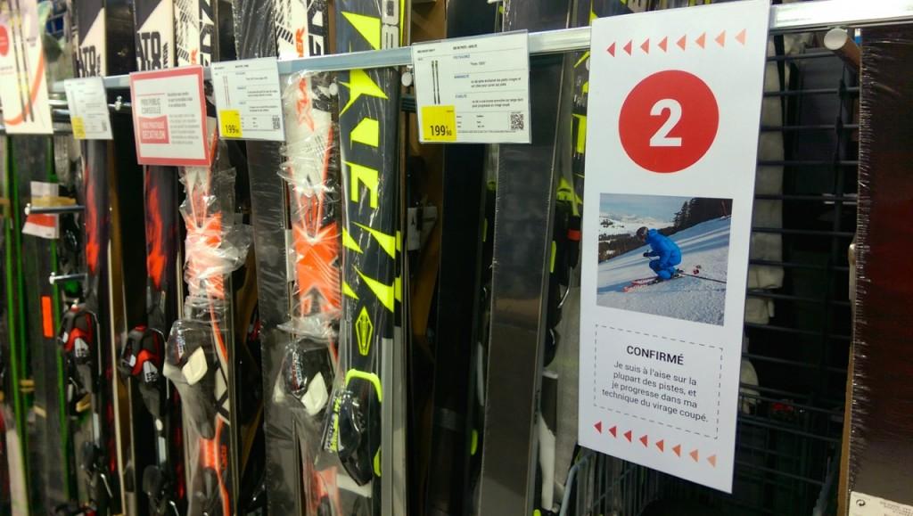 Niveau intermédiaire en ski
