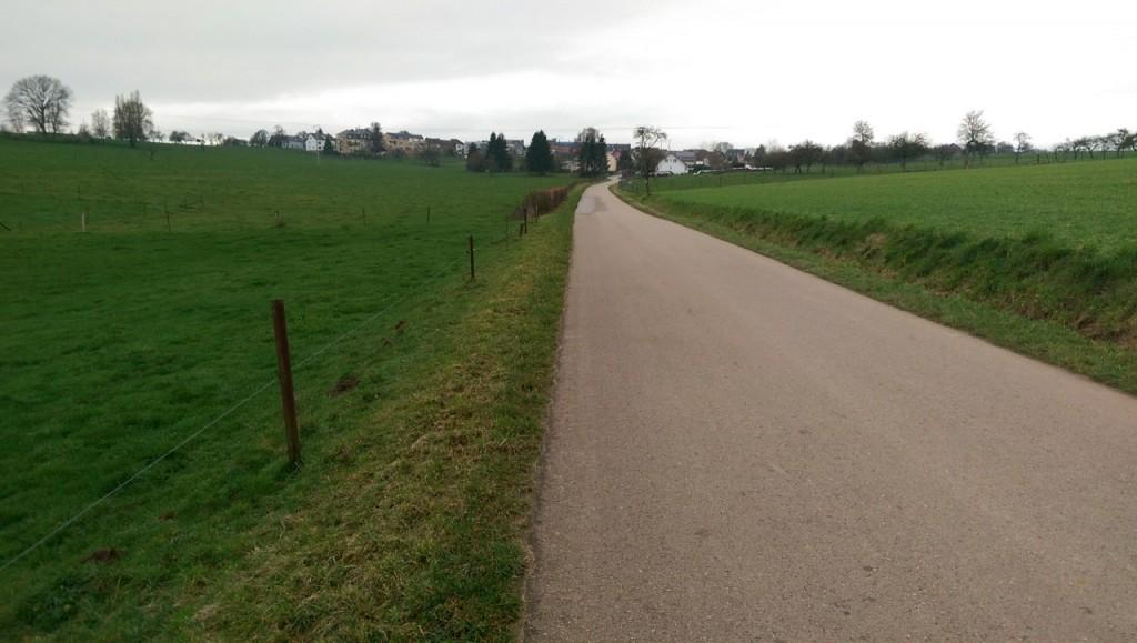 Route du B8 jusqu'à Berdorf