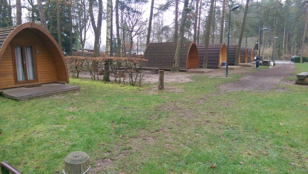 Nouvelles cabanes du camping de Berdorf