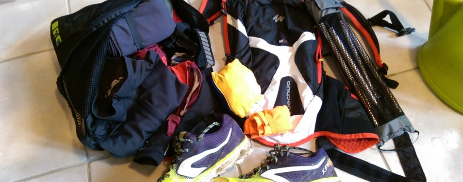 Chaussure de running trail Décathlo...