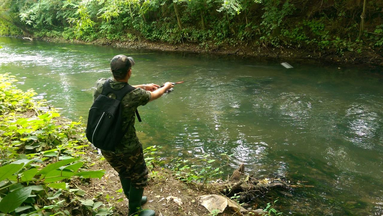 Stephane apprend la pêche, le Glenroy est donc idéal