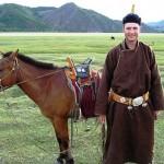 deguisé mongol