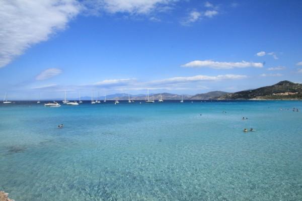 Plage Ile-Rousse (Corse)