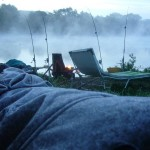 pêche en Moselle le matin