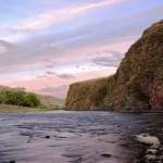Amazing landscape Mongolian