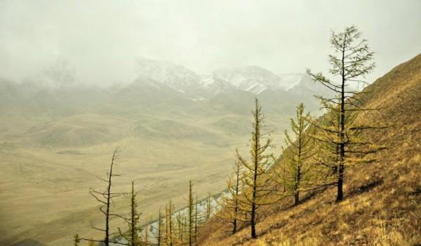 Le temps change en Mongolie