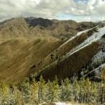 Neige en Mongolie