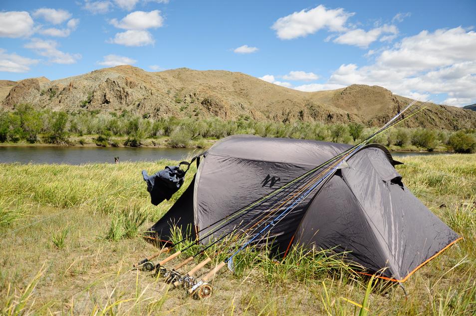 slider tente Quechua bivouac Mongolie