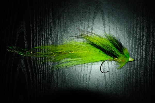 Streamer vert à brochet