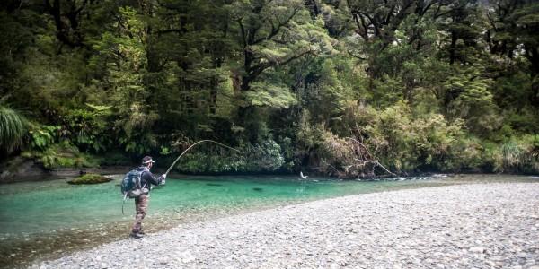 Paysage pêche mouche Nouvelle Zélande Damien Brouste