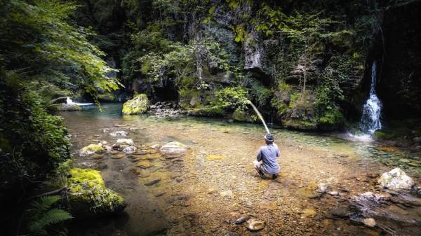 Pêche en France avec Damien Brouste