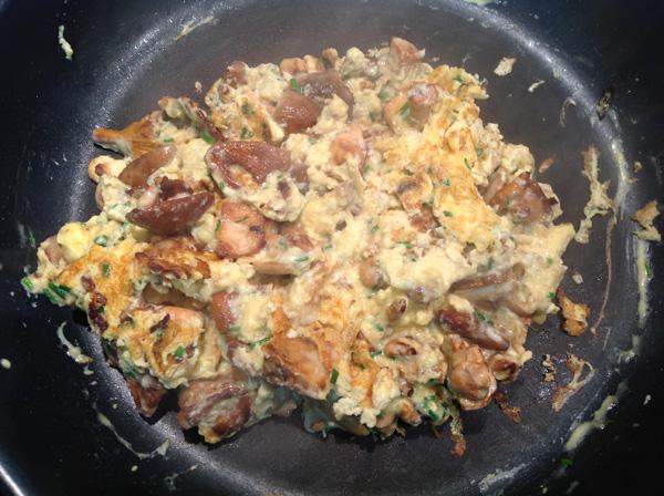 recette champignons