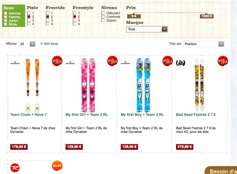 ou acheter ses skis sur internet peche et sac a dos. Black Bedroom Furniture Sets. Home Design Ideas