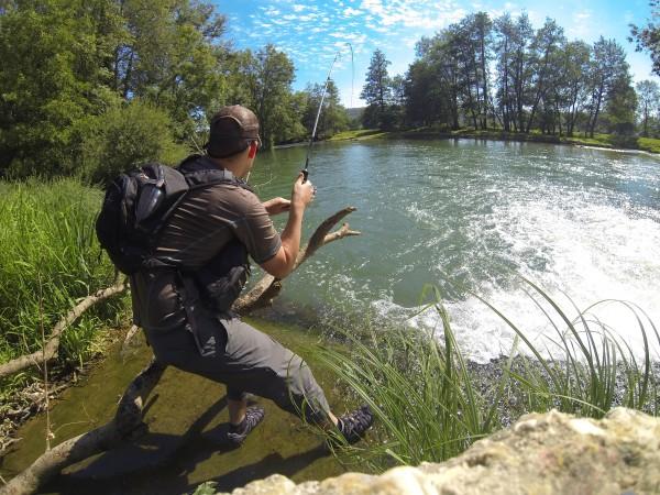 Photo Gopro pêche haute marne développée