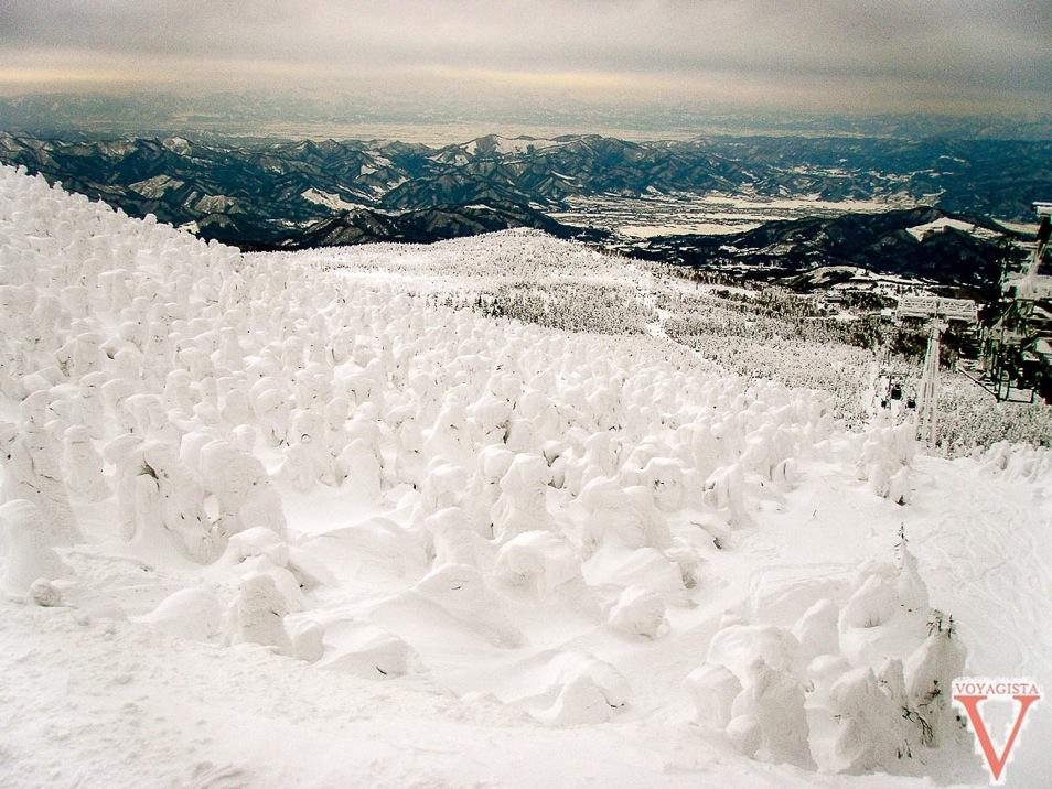 ski monstre au japon