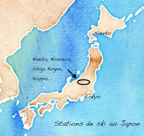 Ou skier au Japon ?