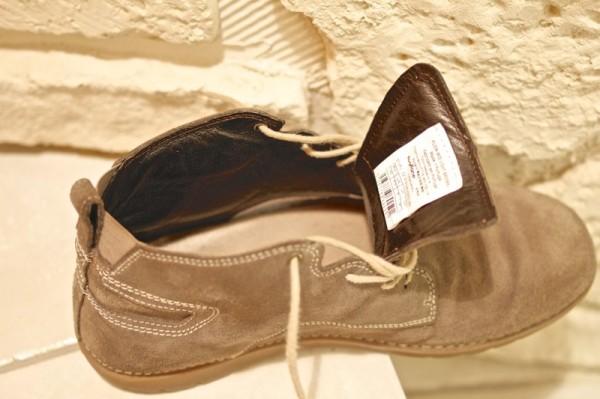 Intérieur revêtement cuir chaussures FLOW MID NEWFEEL Décathlon