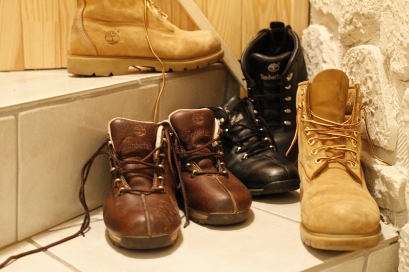 Collection de mes chaussures Timberland