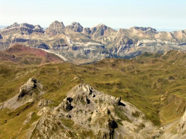 Vue depuis le Midi d'Ossau