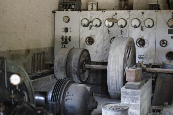 La salle de la grosse machine