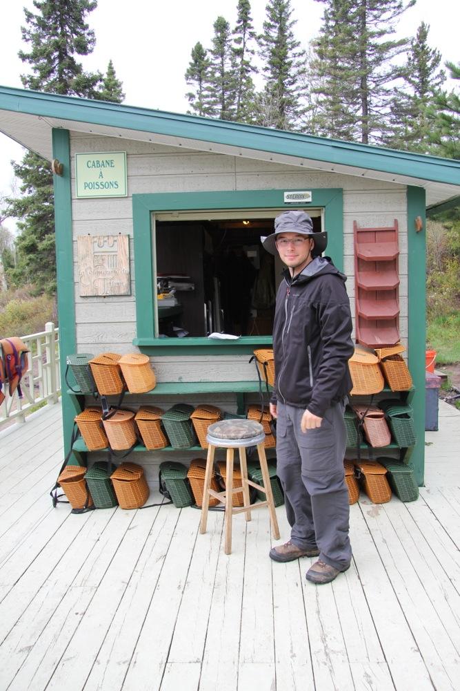 La cabane du pêcheur, très cliché mais c'est ainsi !!