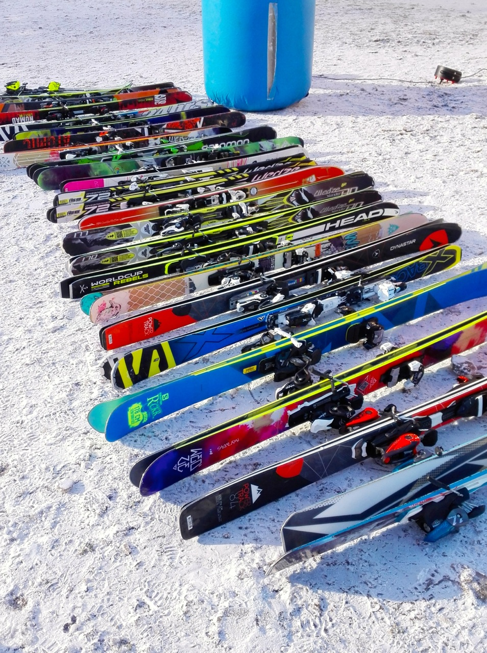 ski test La bresse (Vosges)