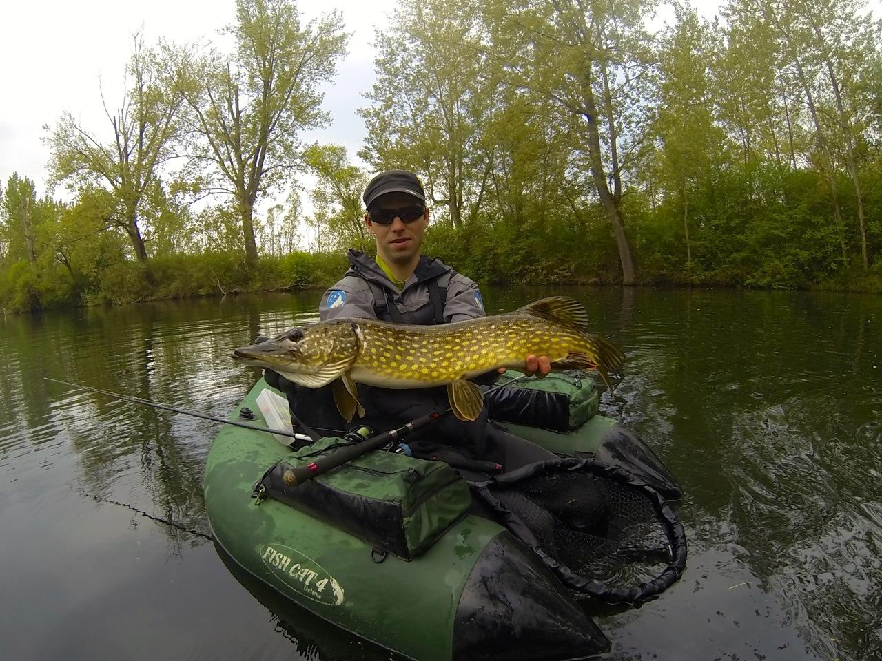 Benoit Bergaentzle de la team Raise-fishing