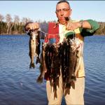 Viandard à la pêche