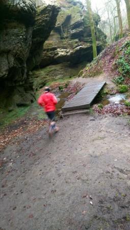 Course à pied sur le trail E1