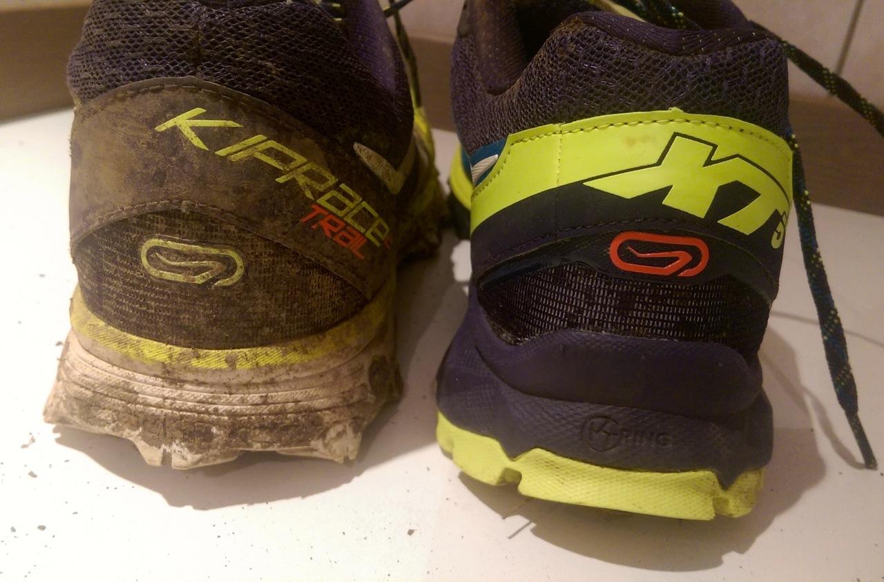 Différence de drop des chaussures trail Kalenji