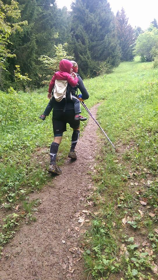 Entrainement au trail avec lestage