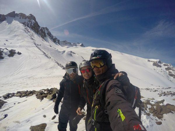La Meije sur le glacier